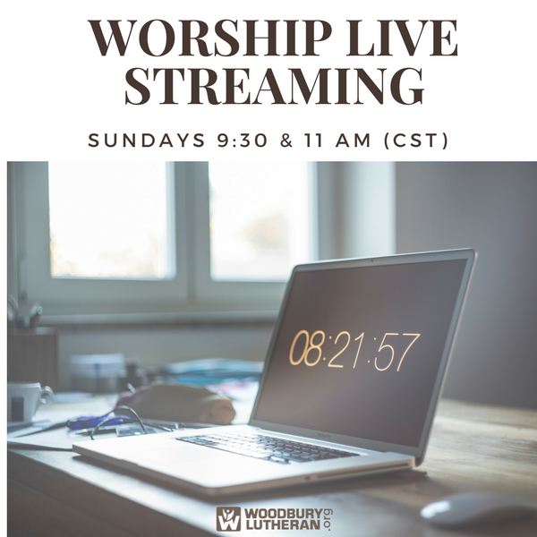 Worship Live Streaming Evite